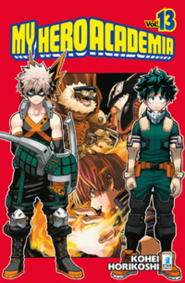 My Hero Academia. 13. - Kohei Horikoshi | Thecosgala.com