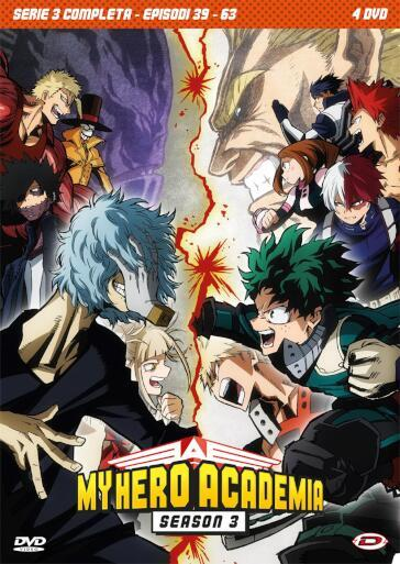 My Hero Academia - Stagione 03 The Complete Series (Eps 39-63) (4 Dvd)