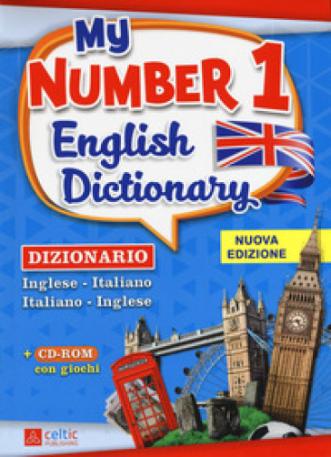 My number 1 English dictionary. Dizionario inglese-italiano, italiano-inglese. Con CD-ROM - Brenda Warren |