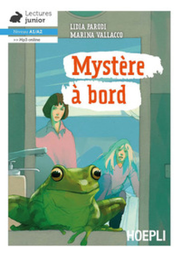 Mystère à bord. Niveau A1-A2. Con File audio per il download - Lidia Parodi | Rochesterscifianimecon.com