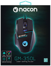 NACON Gaming Mouse Laser GM-350L PC