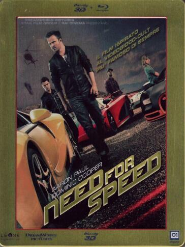 NEED FOR SPEED (2 Blu-Ray)(2D+3D steelbook)