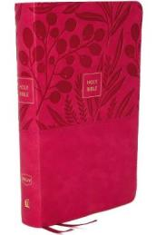 NKJV End-of-verse Reference Bible, Compact, Red Letter Edition, Comfort Print