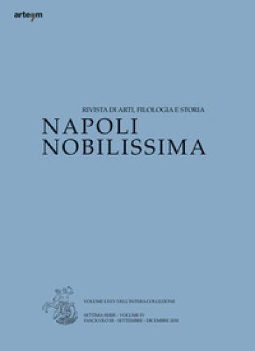 Napoli nobilissima. Rivista di arti, filologia e storia. Settima serie (2018). 3: Settembre-dicembre 2018