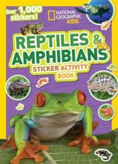 National Geographic Kids Reptiles and Amphibians Sticker Activity Book
