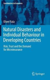 Natural Disasters and Individual Behaviour in Developing Countries