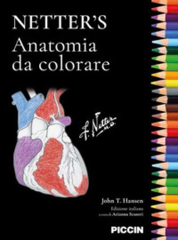 Netter's. Anatomia da colorare - John T. Hansen   Thecosgala.com