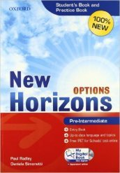 New Horizons Options. Pre-intermediate. Entry book-Student