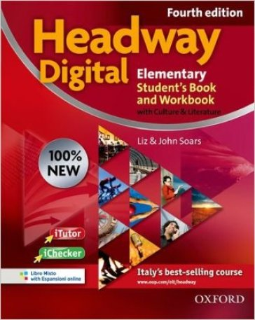 New headway digital. Elementary. Student's book-Workbook. With key. Per le Scuole superiori. Con CD-ROM. Con espansione online