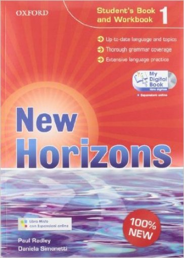 New horizons. Starter-Student's book-Workbook-Homework book-My digital book. Per le Scuole superiori. Con espansione online. 1.