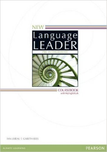 New language leader. Pre-intermediate. Coursebook. Con espansione online. Per le Scuole superiori