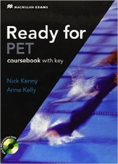 New ready for PET. Student