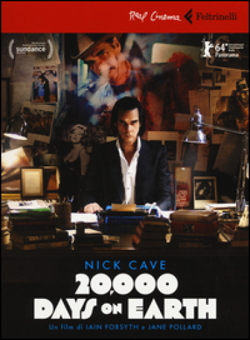 Nick Cave. 20.000 days on earth. DVD. Con libro - Iain Forsyth | Thecosgala.com