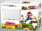 Nintendo 3DS XL White+SuperMario 3D Land