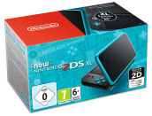 Nintendo New 2DSXL Nero-Turchese