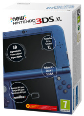 Nintendo New 3DS XL Blu Metallico