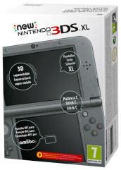 Nintendo New 3DS XL Nero Metallico