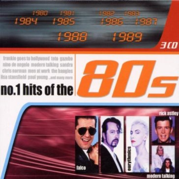 No. 1 hits of the 80's