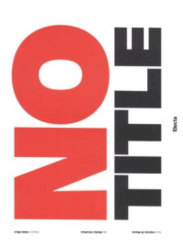 No title. Ediz. illustrata - Fabrizio Di Marzio | Jonathanterrington.com