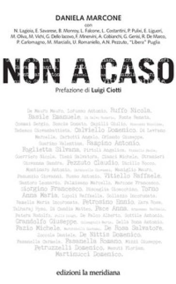 Non a caso - Daniela Marcone | Rochesterscifianimecon.com