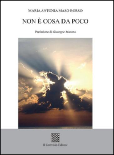Non è cosa da poco - Maria Antonia Maso Borso |
