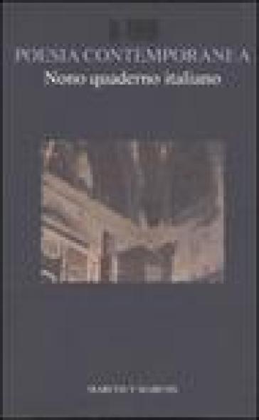 Nono quaderno italiano di poesia contemporanea - Franco Buffoni |