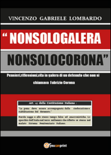 Nonsologalera Nonsolocorona - Vincenzo G. Lombardo   Jonathanterrington.com