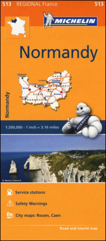 Normandie-Normandy 1:200.000
