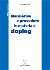 Normativa e procedure in materia di doping