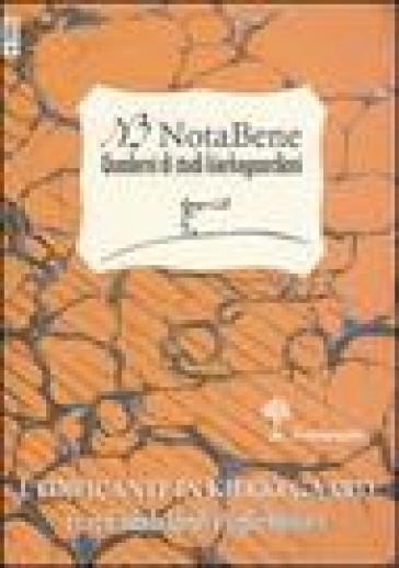 NotaBene. Quaderni di studi kierkegaardiani. 4.L'edificante in Kierkegaard