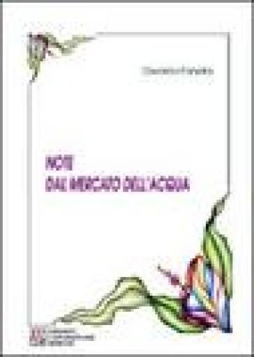 Note dal mercato dell'acqua - Osvaldo Fanella pdf epub