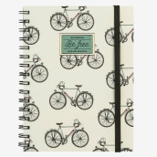 Notebook With Spiral - A5 - Bike