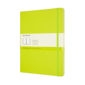 Notebook Xl Pla Hard Lemon Green
