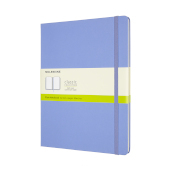 Notebook Xl Pla Hard Hydrangea Blue
