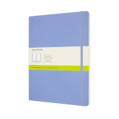 Notebook Xl Pla Soft Hydrangea Blue