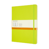 Notebook Xl Rul Hard Lemon Green