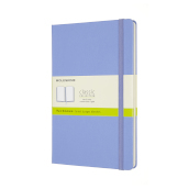Notebook Xl Rul Hard Hydrangea Blue