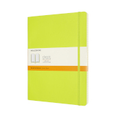 Notebook Xl Rul Soft Lemon Green