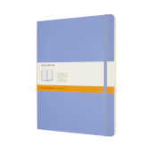 Notebook Xl Rul Soft Hydrangea Blue