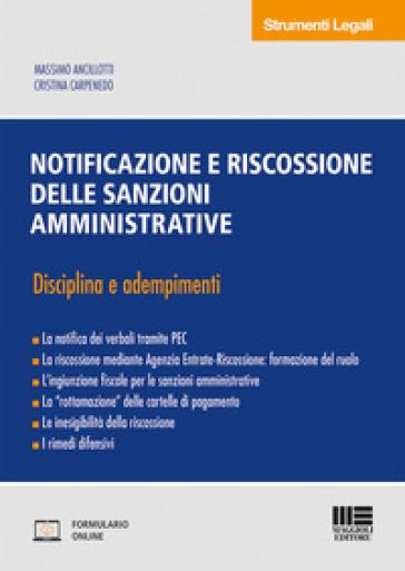 Notificazione e riscossione delle sanzioni amministrative - Massimo Ancillotti pdf epub