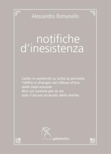 Notifiche d'inesistenza - Alessandro Romanello   Kritjur.org