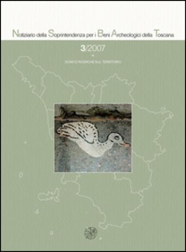 Notiziario della Soprintendenza per i Beni Archeologici della Toscana (2007). 3.