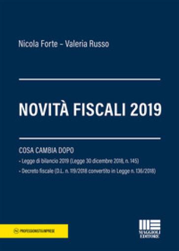 Novità fiscali 2019 - Nicola Forte |