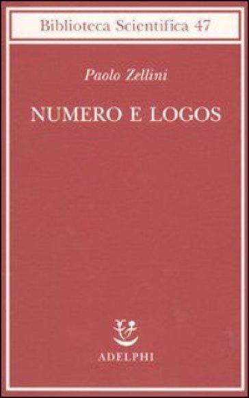 Numero e logos - Paolo Zellini pdf epub