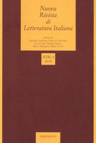 Nuova rivista di letteratura italiana (2019). 2.