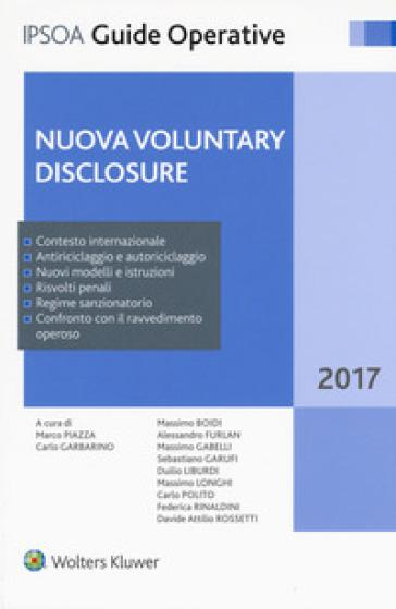 Nuova voluntary disclosure - M. Piazza |