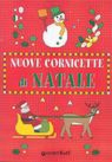 Cornicette Babbo Natale.Nuove Cornicette Di Natale Libro Mondadori Store
