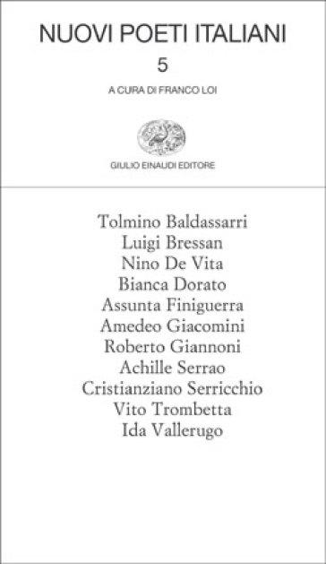 Nuovi poeti italiani. 5. - Franco Loi pdf epub