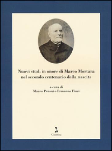 Nuovi studi in onore di Marco Mortara nel secondo centenario della nascita - M. Perani | Kritjur.org