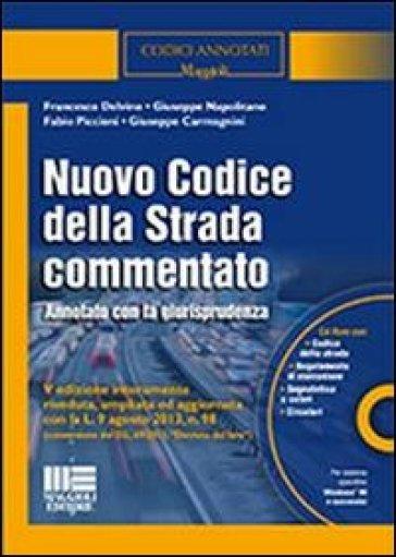 Nuovo codice della strada commentato con cd rom libro for Codice della strada biciclette da corsa